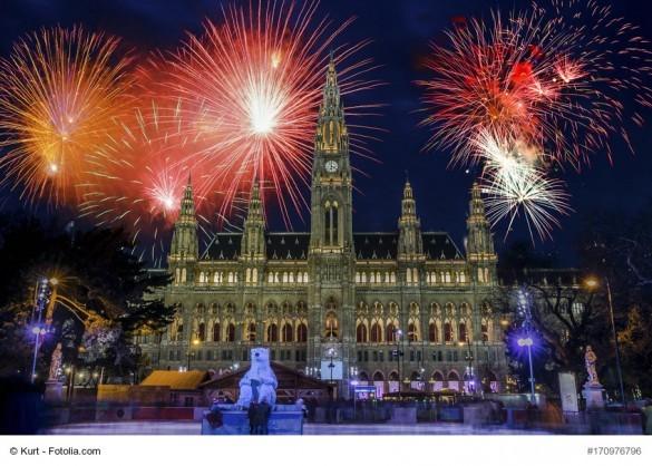 Silvester in Wien Aussichtspunkt