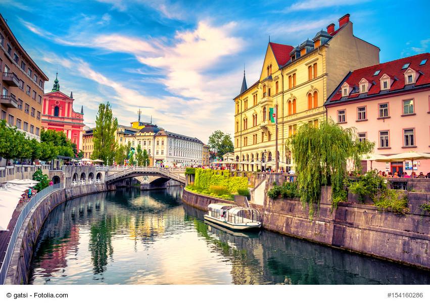 Bei einer Städtereise nach Ljubljana die Vielfalt der Stadt erkunden