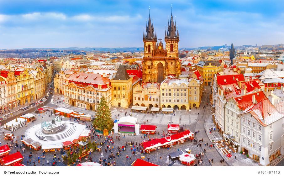 Städtereise nach Prag, in die goldene Stadt